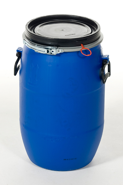 Open Head Plastic Drum (Blue)